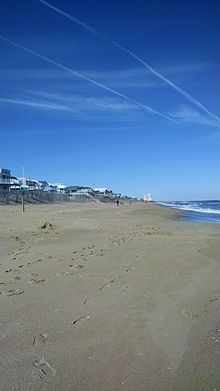 A View Of Croatan Beach