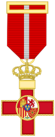Cross of the Military Merit (Spain) - Red Decoration.svg