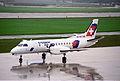 Crossair Saab 340; HB-AKD@ZRH;11.04.1996 (4992463775).jpg