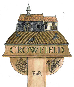Crowfield, Suffolk