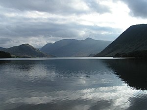 Crummock Water mit Red Pike und High Stile