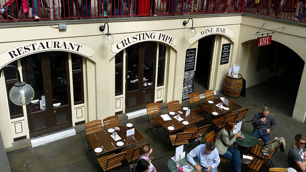 Crusting Pipe Restaurant London