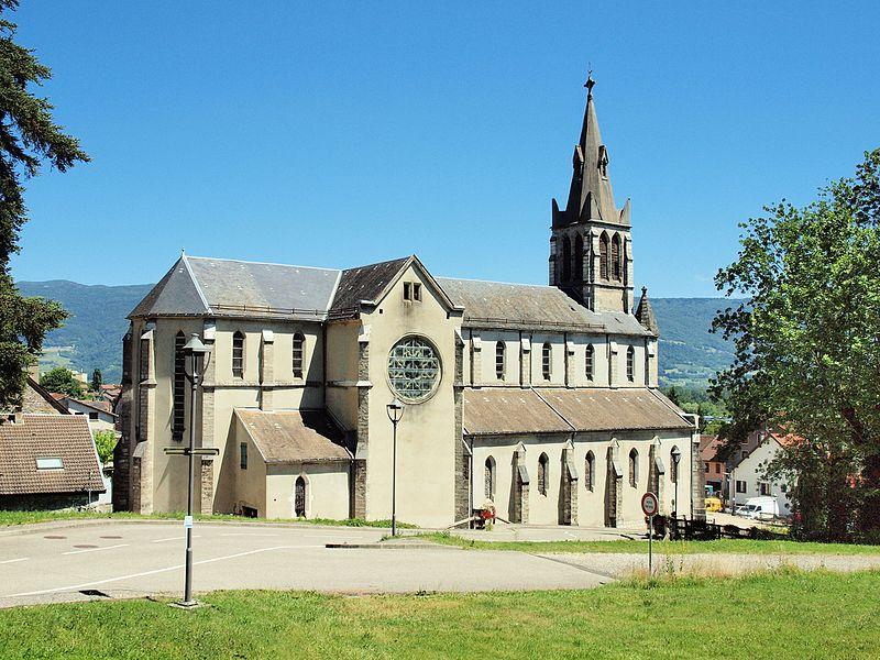 Église Saint-Martin de Culoz (Ain, France)