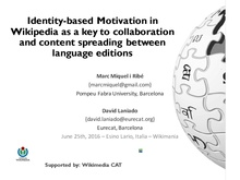 Culture Gap - Wikimania 2016 Cultural Identities in Wikipedia.pdf