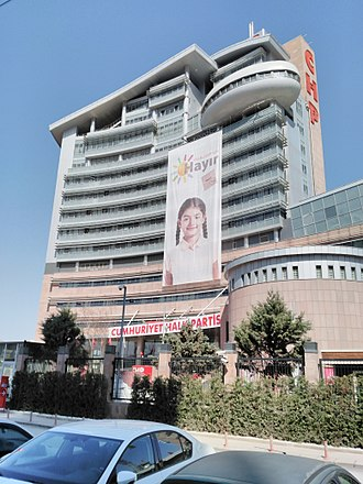 Republican People's Party (Turkey) - Party headquarters in Ankara