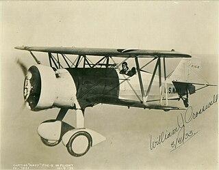 Curtiss F11C Goshawk fighter aircraft