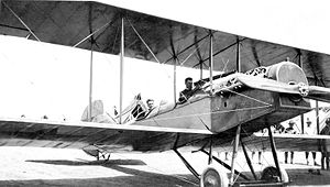 3d Fighter Training Squadron - Curtiss R-2 assembly at Kelly Field, Texas, 1917
