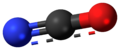 Cyanate anion 3D ball.png