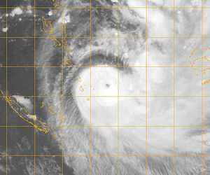 Cyclone Gene - Tropical Cyclone Gene near Vanuatu on January 31