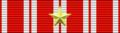Czechoslovak War Cross 1918 (gold star) Bar.png