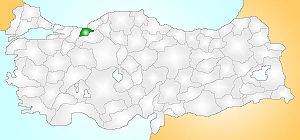 Düzce Turkey Provinces locator.jpg