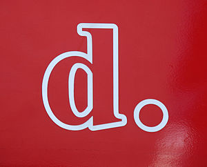 District Department of Transportation - DDOT logo on a DC Circulator bus.