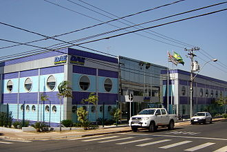Water supply and sanitation in Brazil - Headquarters of the Department of Water and Wastewater (DAE) of the municipality of Santa Bárbara d'Oeste, São Paulo.
