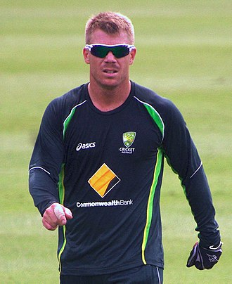 David Warner (cricketer) - Warner in January 2014