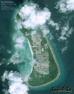 Shaviyani Milandhoo satellite photo