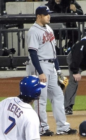 Eric Hinske - Hinske with the Atlanta Braves