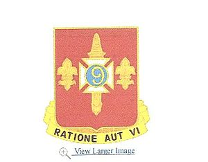 244th Air Defense Artillery Regiment - Image: DUI 244th Defense Artillery Regiment