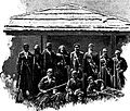 Dadeshkeliani and Cossacks in Becho (Merzbacher, 1901).jpg