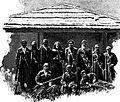 Dadeshkeliani and Cossacks in Becho (Merzbacher, 1901).jpg