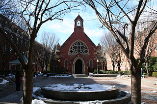 Dahlgren Chapel of the Sacred Heart Church in Washington, D.C.