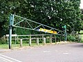 Damaged height barrier, Strand, Gillingham - geograph.org.uk - 1358268.jpg