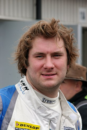 Daniel Welch (racing driver) - Welch at the Silverstone round of the 2013 British Touring Car Championship season.