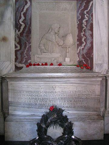 Надгробие Данте в Равенне