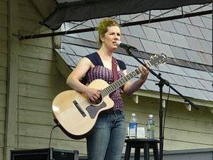 Dar Williams - Williams onstage in 2008
