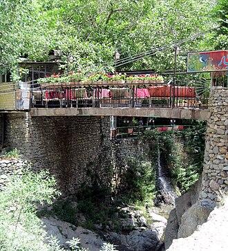 Darakeh - A restaurant in Darakeh