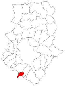 Vị trí của Darasti-Ilfov