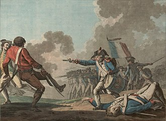 Counter-revolutionary - The War in the Vendée was a royalist uprising that was suppressed by the republican forces in 1796.