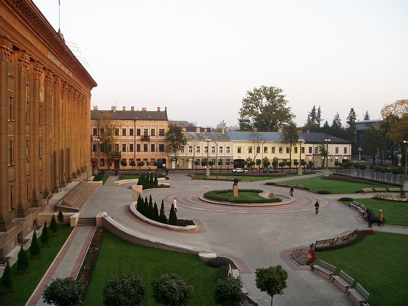 Daugavpils University square