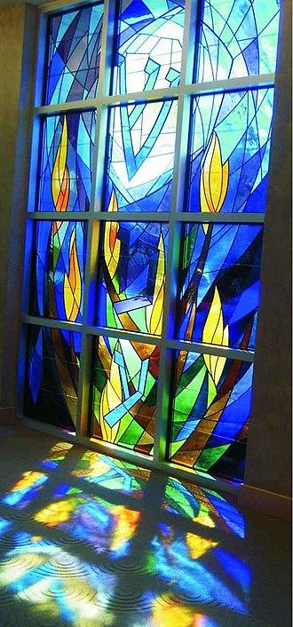 David Ascalon - Image: David Ascalon Stained Glass Window