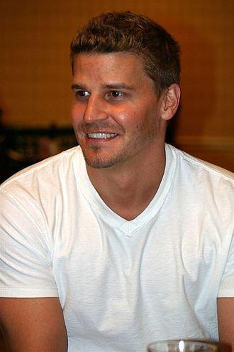 David Boreanaz - Boreanaz at Flashback Weekend 2004
