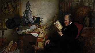 David Laing (antiquary) - Portrait of David Laing by Sir William Fettes Douglas