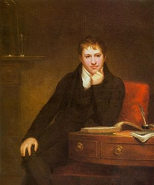 Truro Cathedral School - Sir Humphry Davy by Henry Howard, 1803