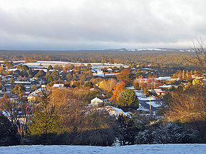 Daylesford, Victoria - Daylesford as seen from Wombat Hill
