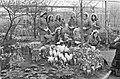De Keukenhof geopend bloemenmeisjes, Bestanddeelnr 925-4949.jpg