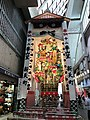 Decorated dashi at Shintencho Shopping Street 2.jpg