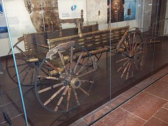 Germanic peoples - The Dejbjerg wagon, National Museum of Denmark