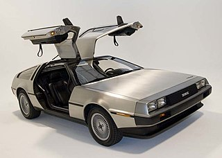 DMC DeLorean 1980s automobile