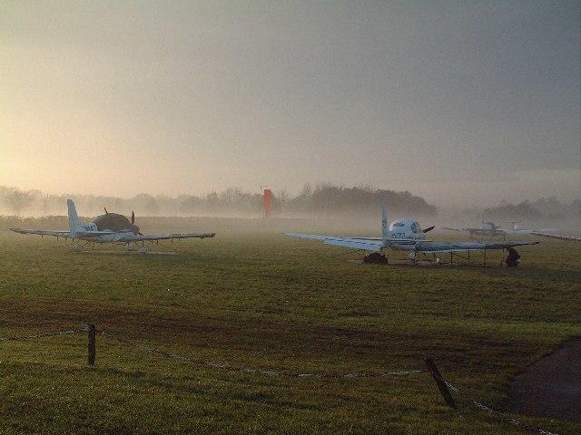 Denham Aerodrome Windsock - geograph.org.uk - 89746