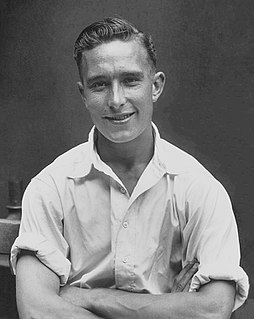 Denis Compton Cricket player of England.