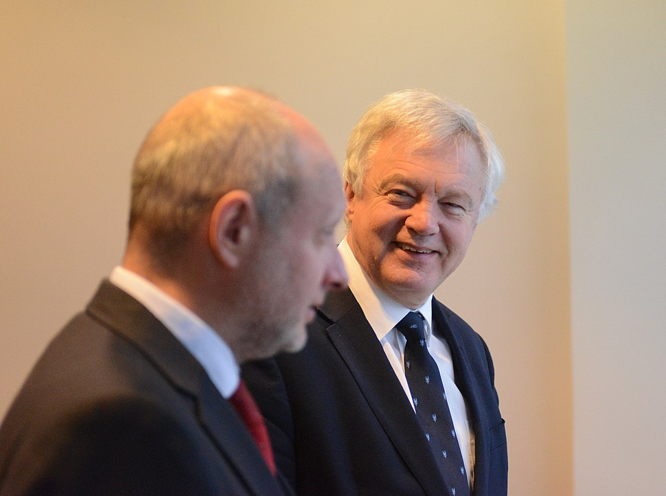 Deputy Minister for EU Affairs Matti Maasikas meets with David Davis, Secretary of State for Exiting the European Union (38562707052)