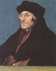Portret Erazma z Rotterdamu (obraz Hansa Holbeina Młodszego)