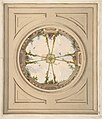 Design for a ceiling painted with clouds and trellis work MET DP811711.jpg
