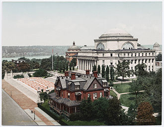Columbia University - The Library at Columbia University, ca. 1900