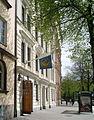 Deutsche Schule Stockholm, Eingangstor Karlavägen 25.JPG