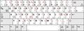 Deutsche Tastaturbelegung E2 nach DIN 2137-01--2018-12 mit Shift-Lock-Symbol.png