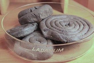 Labdanum - Dried spirals of labdanum for historical medical uses